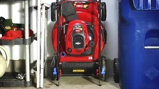 Compact Storage Lawn Mower - Toro Recycler with SmartStow
