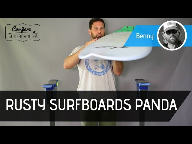 Willian Cardoso's Rusty Surfboards Panda Surfboard Review | Compare Surfboards