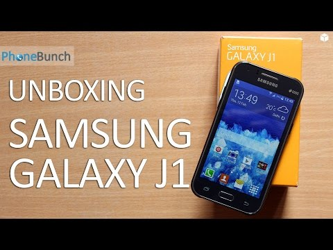 Samsung Galaxy J1 Unboxing and Quick Review