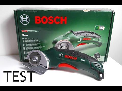 Unboxing Bosch XEO + TEST  - Plexiglas schneiden -