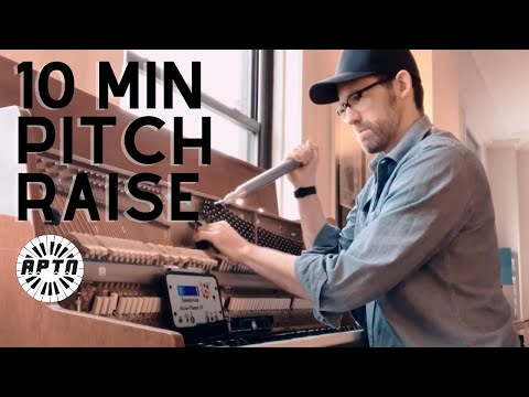 How to Pitch Raise a Piano tuning in less than 10 minutes - YouTube