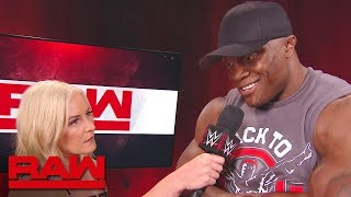 Bobby Lashley has no respect for Roman Reigns: Raw, July 9, 2018
