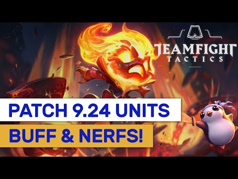 Up Coming TFT Patch 9.24! New Units, Buffs & Nerfs Explained! | TFT | Teamfight Tactics