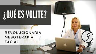 Volite: el revolucionario producto de mesoterapia facial. Dra. Patricia Gutiérrez Ontalvilla - Dra. Patricia Gutiérrez Ontalvilla