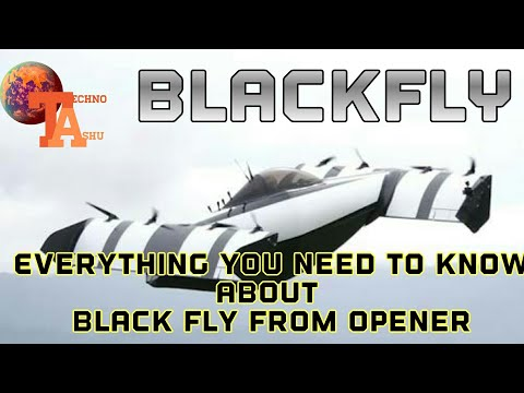 BlackFly From Opener The Flying Car  To Hit The Road/sky Next Year.