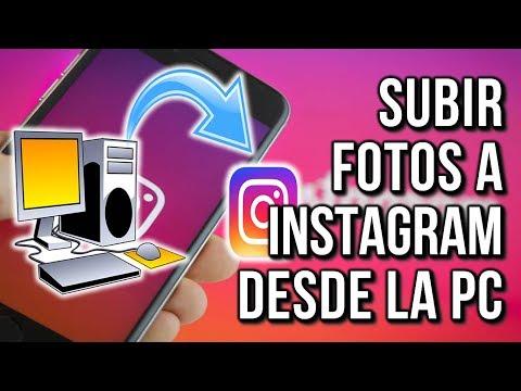 Como Subir Fotos a Instagram desde Pc 2019