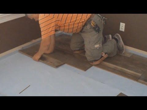 How To Install Laminate Flooring: DIY Floating Floor installation Video Mryoucandoityourself
