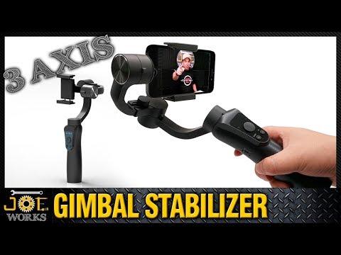 Gimbal Estabilizador para Celular JCRobot S5 Handheld bluetooth.