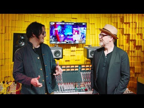 Willy Wonka's (i.e. Jack White's) vinyl factory at Third Man Records