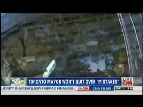Findlin Law Firm CNN Newsroom Brooke Baldwin Toronto Mayor video smoking