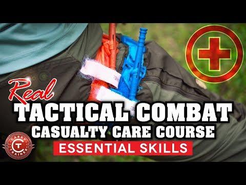 Tactical Combat Casualty Care Training (TCCC) | S12 Nashville 2018