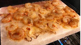 We COOKED Shrimp on a Salt Block!