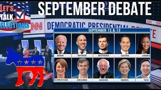 Who & What to Expect at the Next Democratic Debate