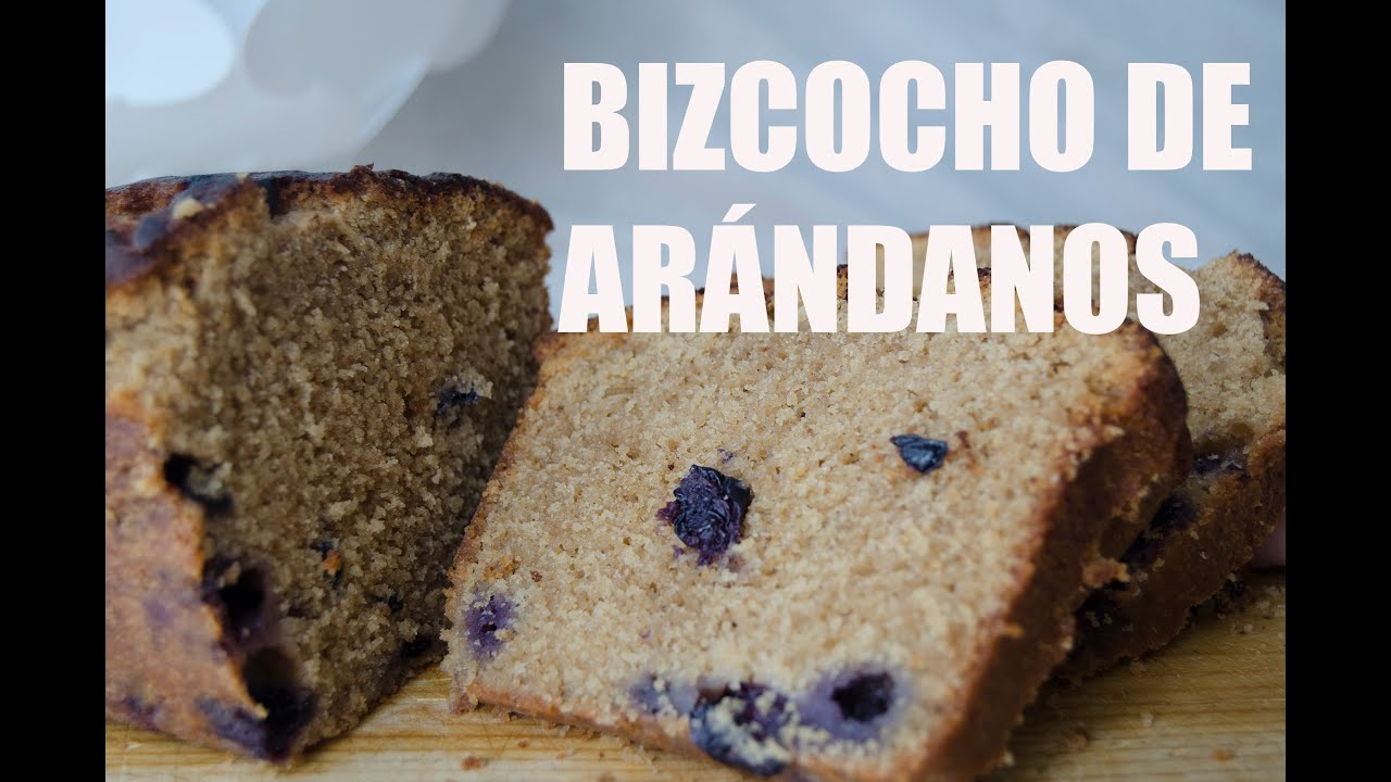 BIZCOCHO ARANDANOS