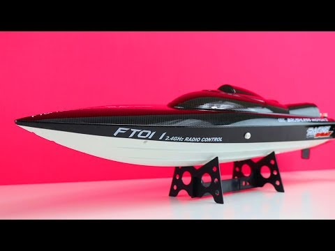 Chinesen schicken mir ein extrem schnelles RC Speedboot - Feilun FT011 - Review