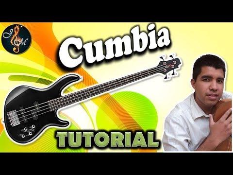 Como TOCAR CUMBIA  en bajo electrico de 4 cuerdas | Principiantes