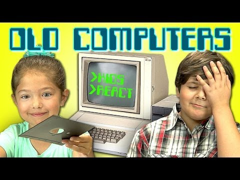 Kids Reacting To Old Computers Hurts My Heart