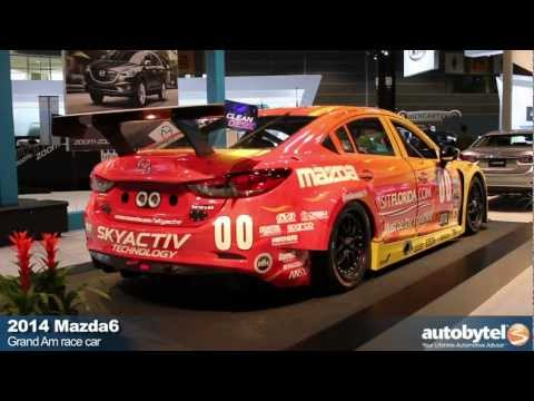 Mazda6 SKYACTIV Diesel Race Car At The 2013 Chicago Auto Show