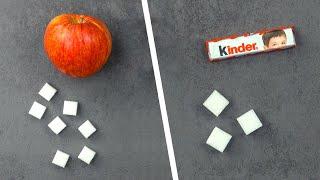 So viel Zucker steckt wirklich in diesen Lebensmitteln