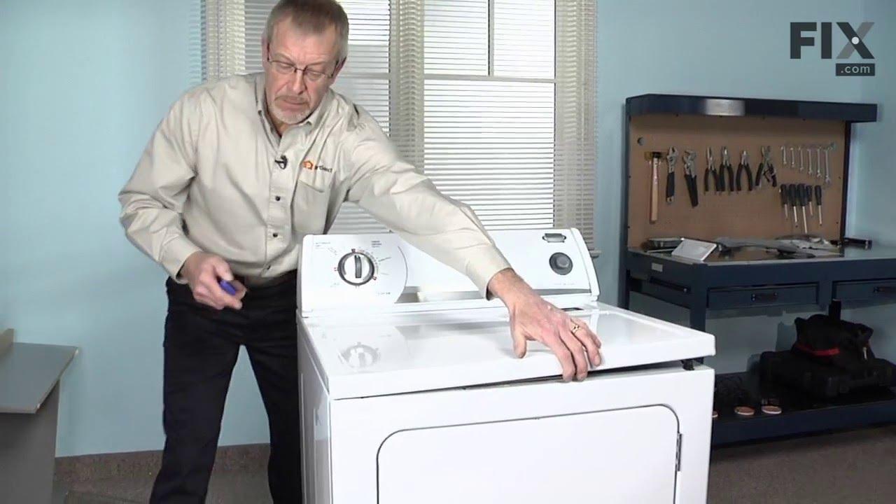 """Replacing your Kenmore Dryer Multi Rib Belt - 92-1/4"""""""