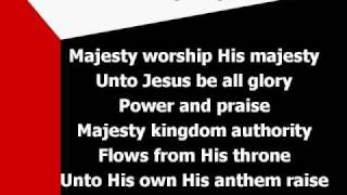 Majesty (worship mp3 w/ lyrics)