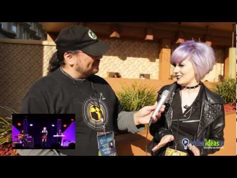 Anime Los Angeles - Day 3 - Interview with Mynx, lead singer of Midnight Shinigami