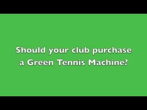 Eric Wammock at Hilton Head with Reasons to Purchase a Green Tennis Machine