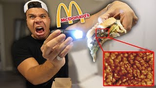 How McDonalds Looks Under A Microscope!! *LOOK WHAT I FOUND*