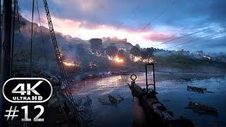 Battlefield 1 4K Gameplay Walkthrough Part 12 - BF1 Campaign 4K 60fps