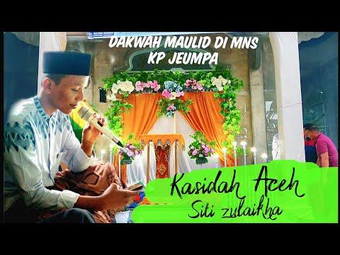 Kasidah Aceh-Siti Zulaikha Di Acara dakwah maulid nabi di Kampung Jeumpa Kec glp tiga