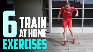 6 Badminton Exercises AT HOME – Footwork & racket