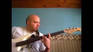 police shit the exploited (bass cover)