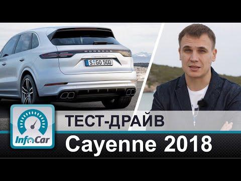 Porsche  Cayenne  Паркетник класса J - тест-драйв 2