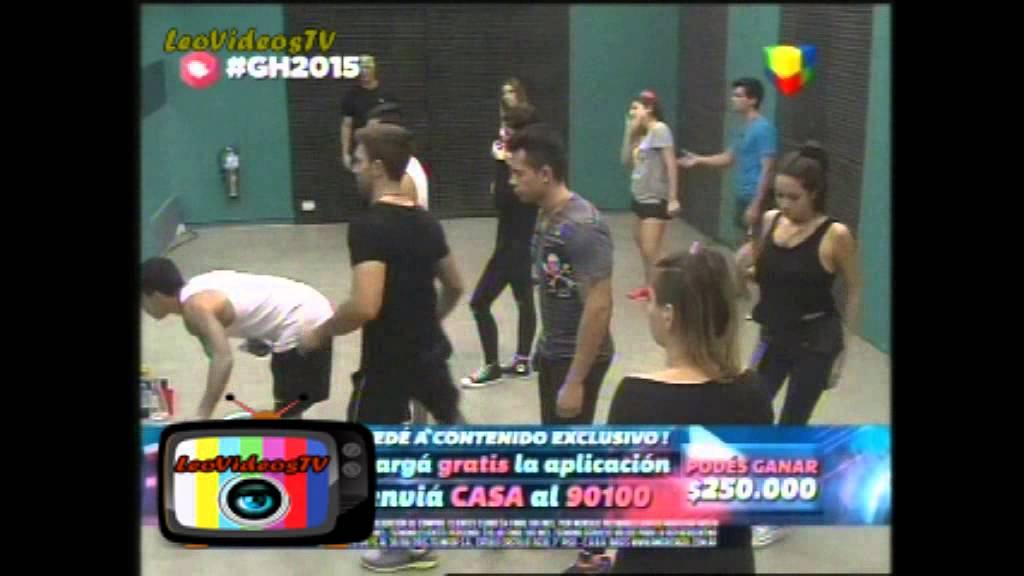 Primer ensayo del baile prueba semanal parte 1 GH 2015 #GH2015 #GranHermano