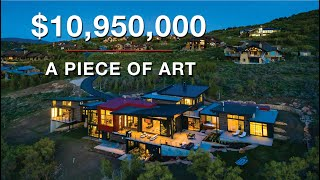 Super Industrial Modern Style With Mid-Century Flair - An Architectural Masterpiece In Park City, Ut