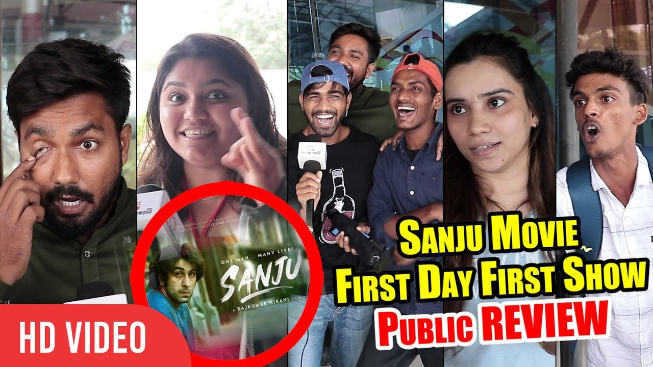 SANJU Movie Public Review 💯% SUPERHIT   First Day First