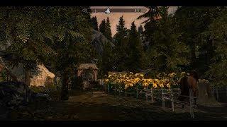 Gwynbleidd - Herbalists Hut & Belleteyn - Snowy Cabin - Skyrim House Mods
