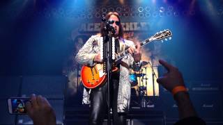ACE FREHLEY (LIVE) GIMME A FEELIN' NEW BRUNSWICK NJ OPENING NIGHT 11/13/14 FRONT ROW