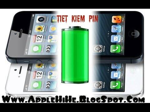 Thủ thuật tiết kiệm pin trên iphone , Cách tối ưu pin để sử dụng lâu nhất cho ios 7, ios 8