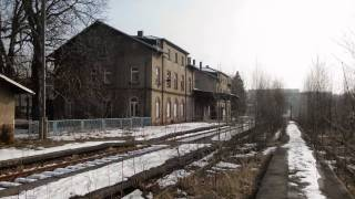 preview picture of video 'Bahnhof Rochlitz  2013 /2014'