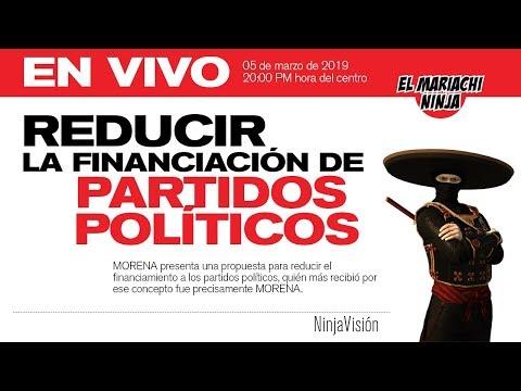 En vivo:Reducir el financiamiento a partidos políticos