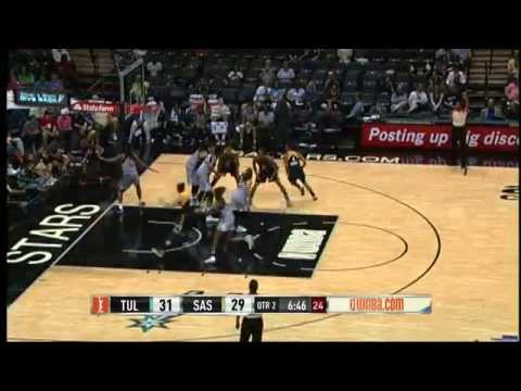Game Recap: Tulsa Shock vs San Antonio Stars