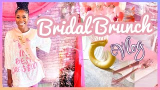My Bridal Shower Brunch | Vlog 6 | Shanese Danae