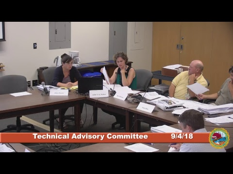 Technical Advisory Committee 9.4.2018