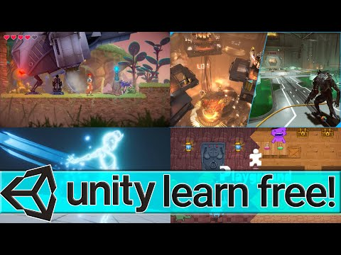 Unity Learn Premium Now Free FOREVER!
