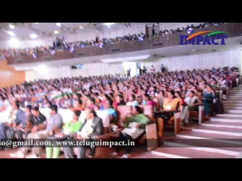 Career Guidance | Suresh |TELUGU IMPACT Vizag 2015
