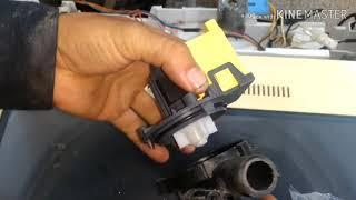 Curso de lavadoras/ruido fuerte al centrifugar/cuando cambiar la bomba de drenaje