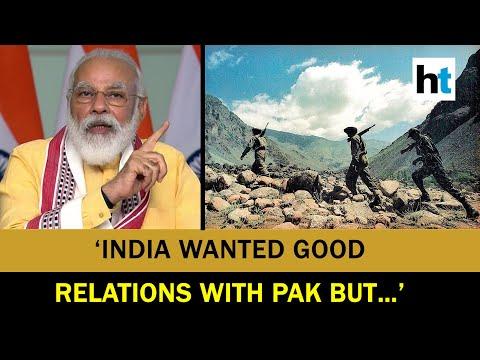'Pak was on high grounds, still…': PM Modi recalls valour of jawans on Kargil Vijay Diwas