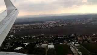 preview picture of video 'EL-AL boeing 737-800 landing in Ben-Gurion Airport, Tel Aviv'