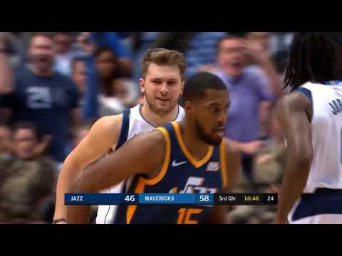 Luka Dončić Fakes Out Rudy Gobert and Scores on Him! 🔥